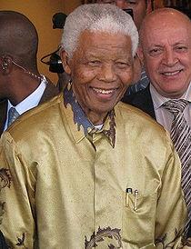 Nelson Mandela - Fotó: Wikipédia