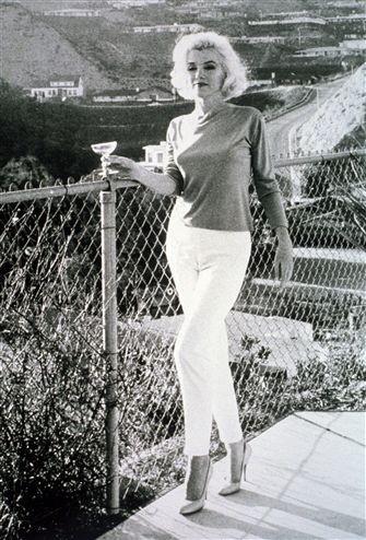 Egyesült Államok, 1960-as évek eleje. Marilyn Monroe énekes-színésznő (MTI-fotó)