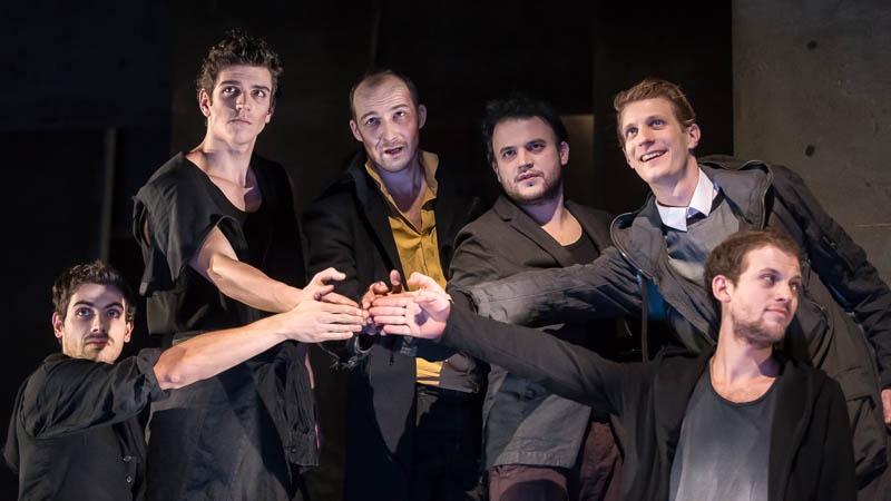 Friedrich Schiller, Haramiák, Pesti Színház - Fotó: Dömölky Dániel